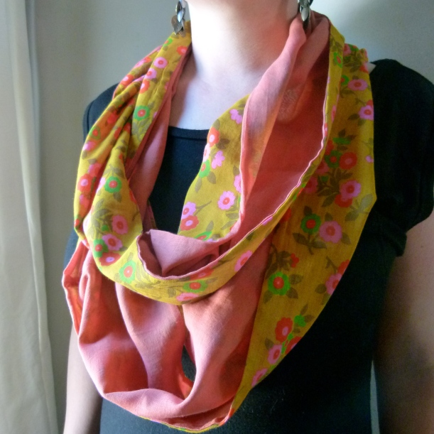 f&c voile infinity scarf